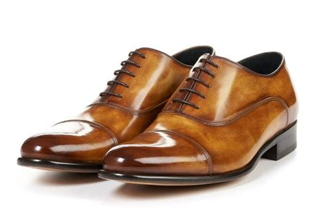 Big W Brown Dress Shoes by The Cagney Ii Stitched Cap Toe Oxford Tobacco Brown Paul