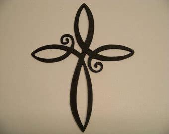 cross with infinity infinity cross etsy