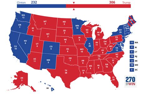 map of the united states electoral votes election news polls and results