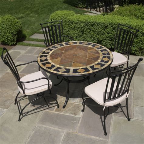 mosaic patio table top replacement mosaic patio table sets inspire furniture ideas