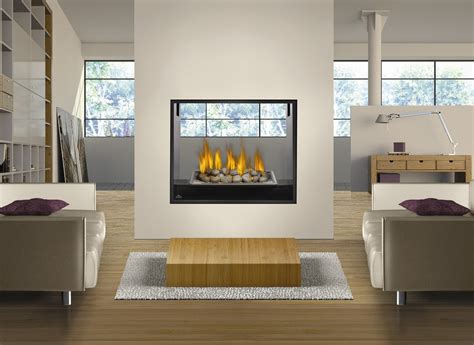 Sided Fireplace Inserts by 2 Sided Gas Fireplace Inserts Fireplace Design Ideas