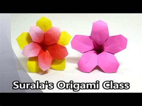 Origami Azalea - origami azalea flower