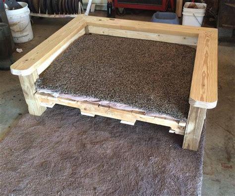 pallet dog bed plans 10 diy pallet dog bed designs newnist