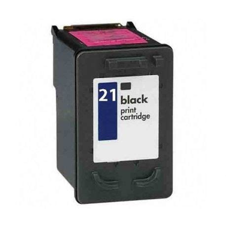 Tinta Printer Hp No 21 Tinta Negra Compatible Para Hp 21xl Architoner