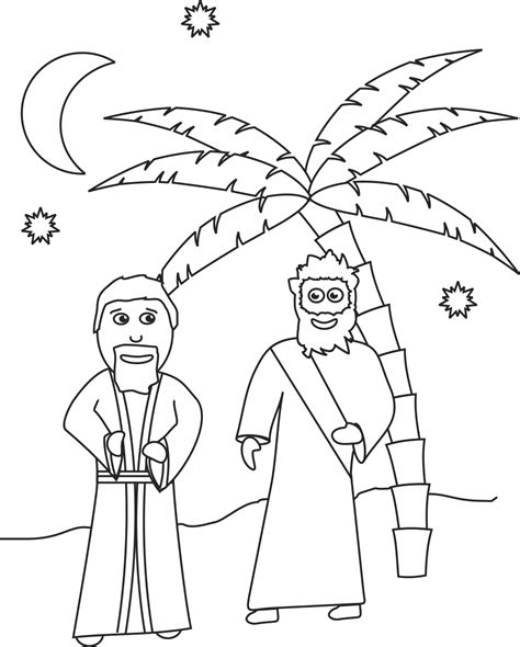 coloring page jesus and nicodemus my children s curriculum jesus teaches nicodemus