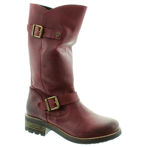 wine boots sweet crest calf boots in wine in wine