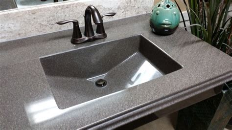 Integrated Bathroom Sink And Countertop by Integrated Countertop Sinks