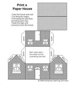 free paper house templates paper house template 19 free pdf documents