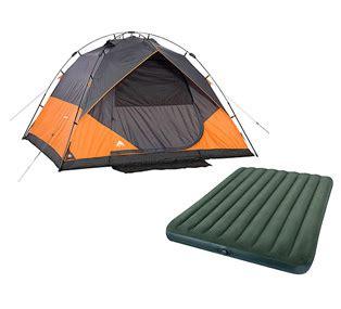 ozark trail  person instant dome tent  intex queen airbed  bundle   wheel