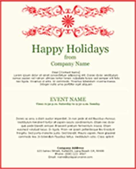 happy holidays template email invitations benchmark email