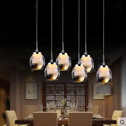 Creative Hanging Lights Led Acrylic Creative Pendant Lights Glass Lshade Hanging L Hangl Restaurant Sitting