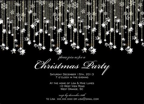 formal party invitations psd eps ai word