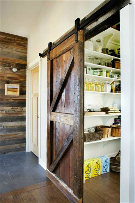 Kitchen Barn Doors 20 Amazing Kitchen Pantry Ideas Decoholic