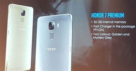 Handphone Huawei Honor 7 huawei honor 7 akan segera tersedia dalam versi premium kliknklik official