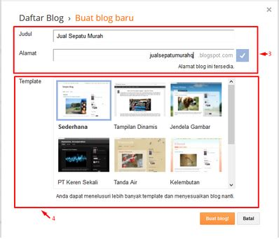 cara membuat blog internet gratis cara mudah membuat blog sendiri di internet jasa bikin