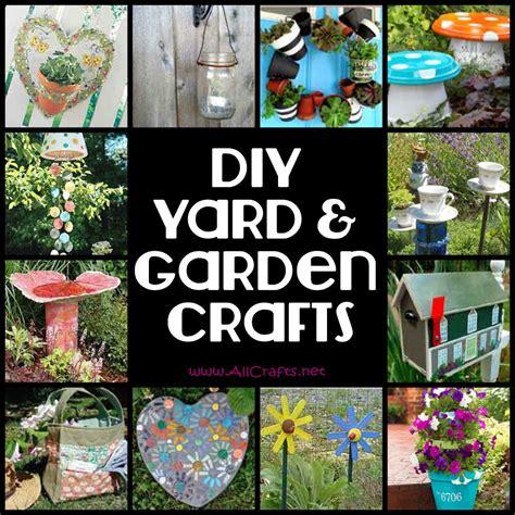 diy outdoor crafts diy yard and garden crafts allcrafts free crafts update