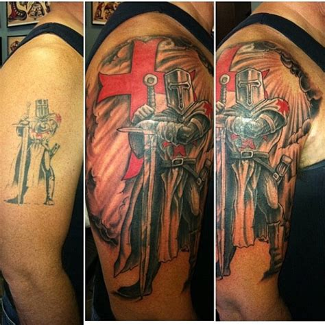 crusader cross tattoo tattoo collections