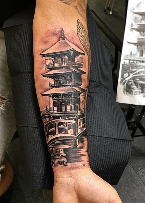 japanese pagoda tattoo inkstylemag