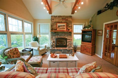 four season rooms with fireplaces