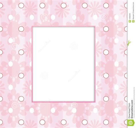 girl frame baby girl frame stock illustration illustration of