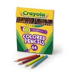 crayola colored pencils 64 crayola 64 ct colored pencils choice colors