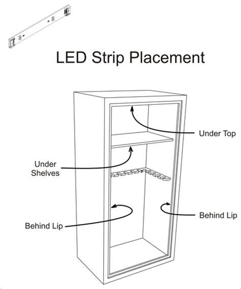 are lights safe gun safe light motion sensing led lighting system