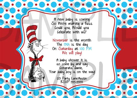 free dr seuss invitation templates dr seuss baby shower invitations printable free cimvitation