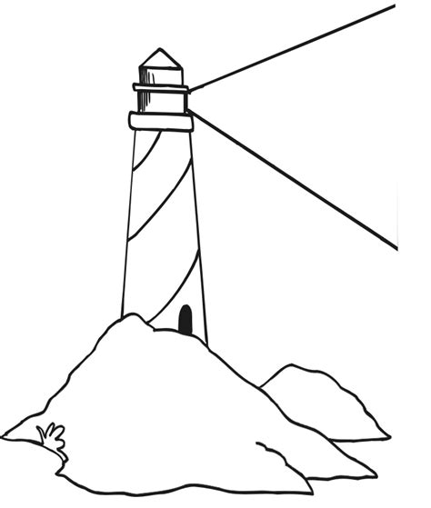 lighthouse printable lighthouse coloring page 2 lighthouse coloring pages