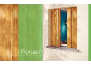 persiennes pliantes bois fen 234 tres