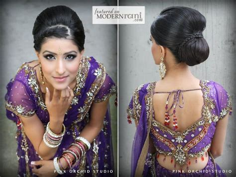 south asian wedding hairstyles pin by princess purple on kondai
