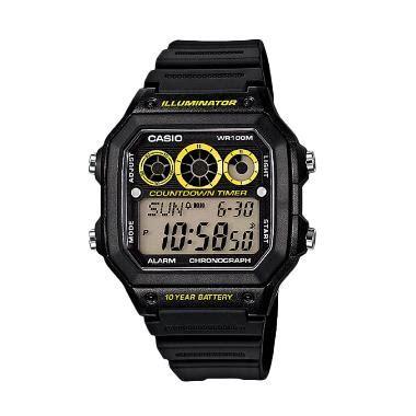 Jam Tangan Pria Casio Ae 1300wh 2a Original Murah Garansi Resmi Casio 5 jual casio ae 1300wh 1avdf jam tangan pria harga kualitas terjamin blibli