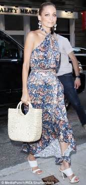 2017 06 26 sarah westwood blue dress womens dresses nicole richie attends nbc summer cocktail party in nyc