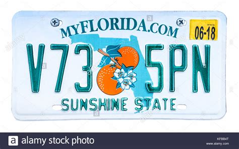 boatus florida license sunshine state stock photos sunshine state stock images