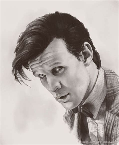 how to draw matt smith doctor who matt smith the 11th doctor drawing the man with the