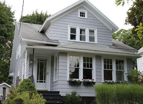 grey house colors behr sparrow our new exterior house color exterior