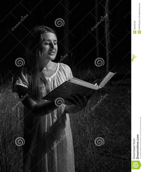 Monochrome Big monochrome portrait of holding big book at