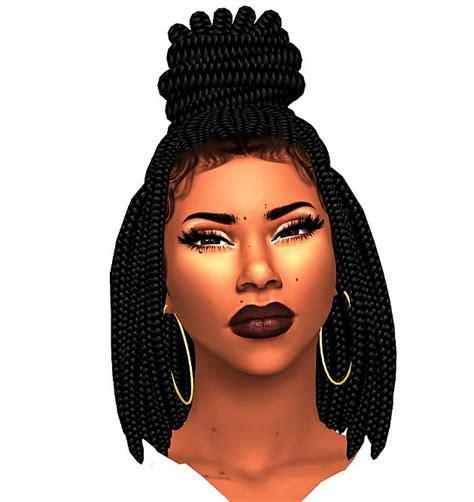 ebonix sims 4 hair 418 best images about sims 4 hair on pinterest