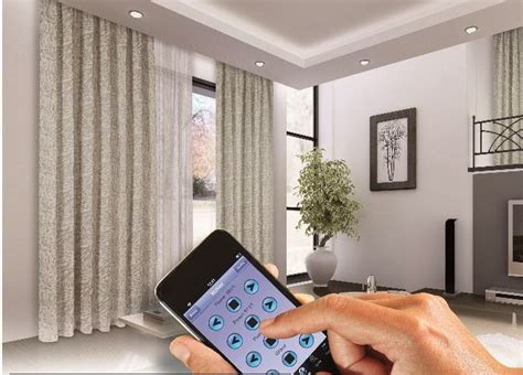 curtain automation in delhi smart home curtain automation