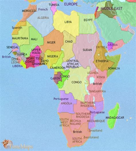 africa map 1960 a map of africa part 1 sam matteson