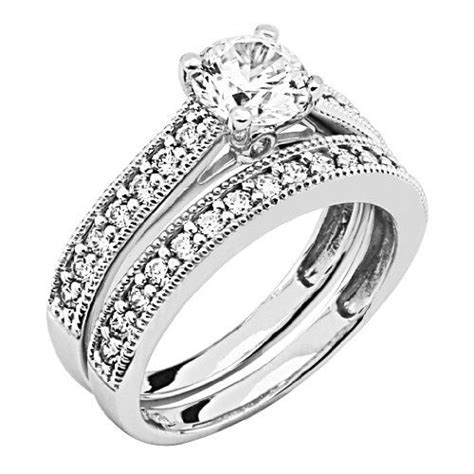 best cubic zirconia wedding rings 45 best images about wedding rings on cubic