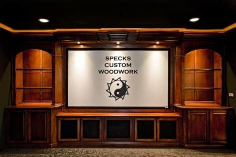 handmade custom maple home theater built   speck