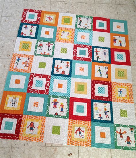 Silent Auction Quilt Freshly Pieced Classroom Quilt Template