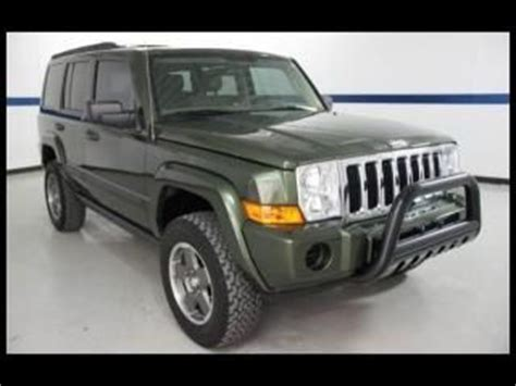 08 Jeep Commander Find Used 08 Jeep Commander 4x4 Sport Cloth Seats Power