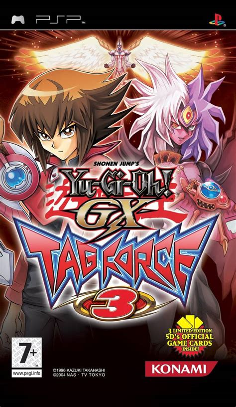 gamefaqs yu gi oh duel monsters gx tag force 3 psp yu gi oh duel monsters gx tag force 3 box shot for psp