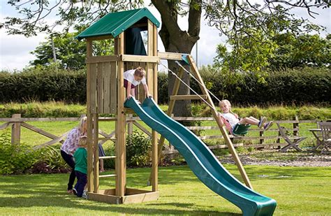 garden slide and swing children s child s climbing frame