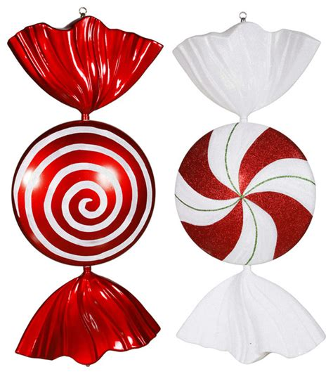 White Wine On Carpet by 18 Quot Peppermint Candy Assorted Set Of 2 Contemporary