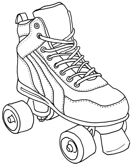 Coloring Pages Boys Roller Skate Page Skating Best Of Coloring Pages Skating