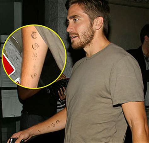 jake gyllenhaal tattoos jake gyllenhaal 2018 dating tattoos
