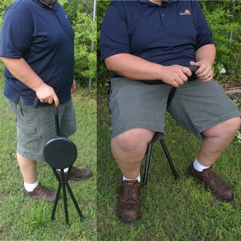 Portable Walking Chair Stool by Ipree Outdoor Travel Folding Stool Chair Portable
