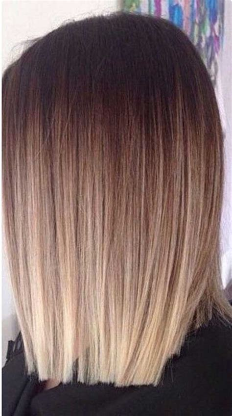 ombre hair color  short hair short hairstyles